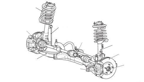 Схема ходовая лансер 9